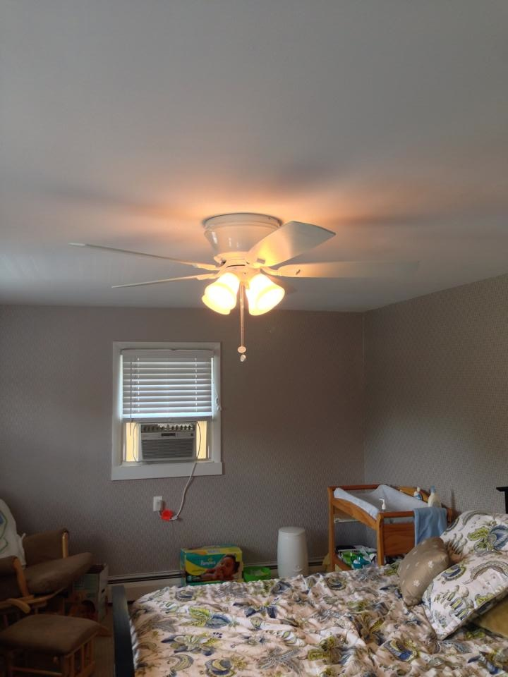 Fan Light Install