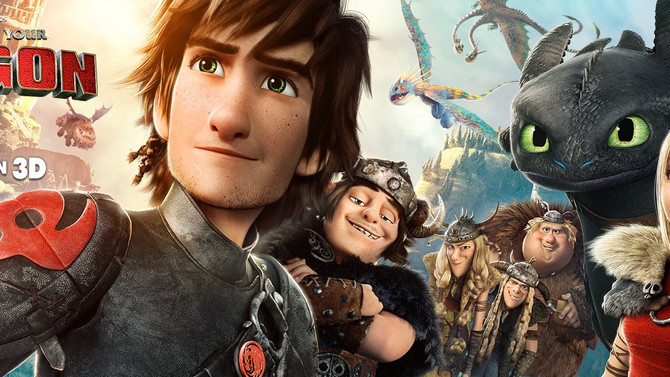 "I am officially done with ""How To Train Your Dragon 2""!!!"