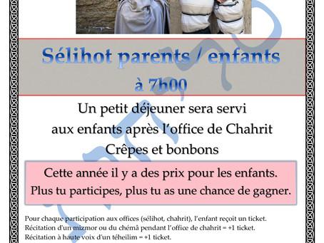 Sélihot Parents - Enfants