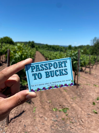 Passport To Bucks *Pick up only* (Includes tastings at 5 Bucks County wineries)