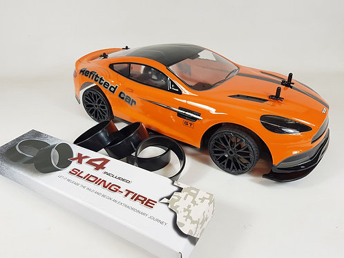 1:10 Remote Control RC Aston Martin Vantage Drift Car 4WD 2 speeds RTR Toy Model
