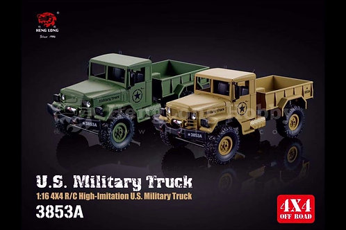 WPL MODEL OFF ROAD RACING SERIES 1:16 RADIO REMOTE CONTROL 3853A B-14 MILITARY T