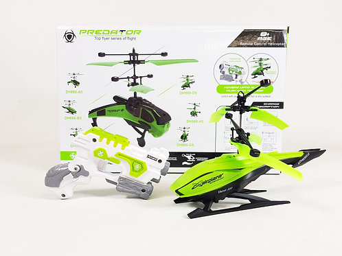 RC Predator Laser Shooting Helicopter Drone Model Top Flyer DH888-B5 Toy Dron