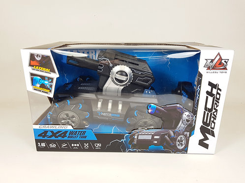 RADIO CONTROLLED MECH TANK ROBOT WATER BOMB FIRING 2.4G REMOTE CONTROL RC CHARIO