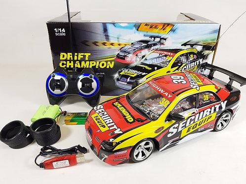 Subaru Impreza WRX STI Scooby WRC 4WD Radio Control Drift Car Toy 1/14 Model