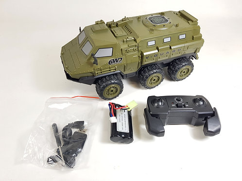 RC Radio Control Military Army Truck 6WD 1/16 2.4G V-guard Armored All Terrain