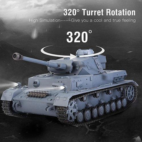 RC Tank Panzer IV F2 1:16 Heng Long 3859-1 Smoke Sound BB + IR V7