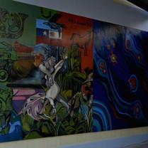 Mural da Escola Argentina de Port Mont