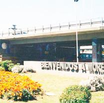 Viaduto 25 de maio em Moreno