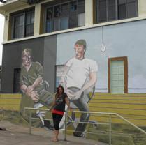 Mural da Estação de trem de Paso de Rey