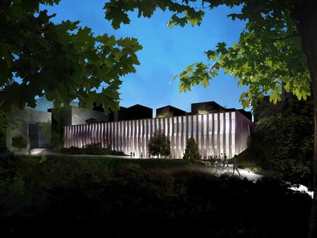 Construction du nouveau Conservatoire de musique de danse et d'art dramatique Henri Tomasi