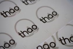 Logo e immagine coordinata Thao - 1