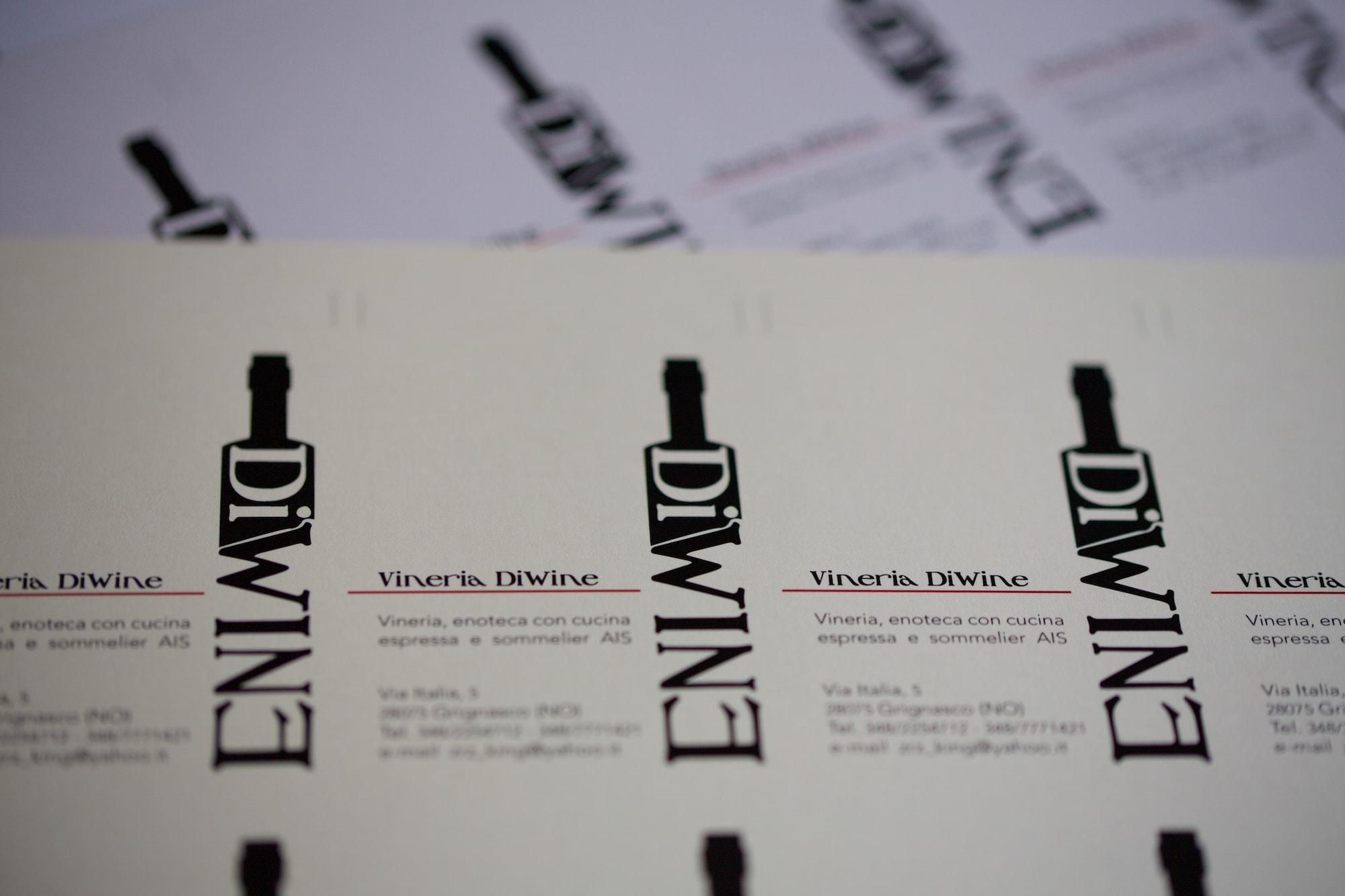 DiWine Biglietti da Visita