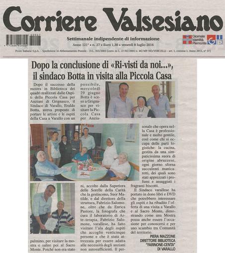 Corriere Valsesiano del 08.07.2016