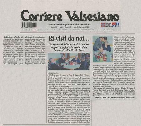 Corriere Valsesiano del 17.06.2016