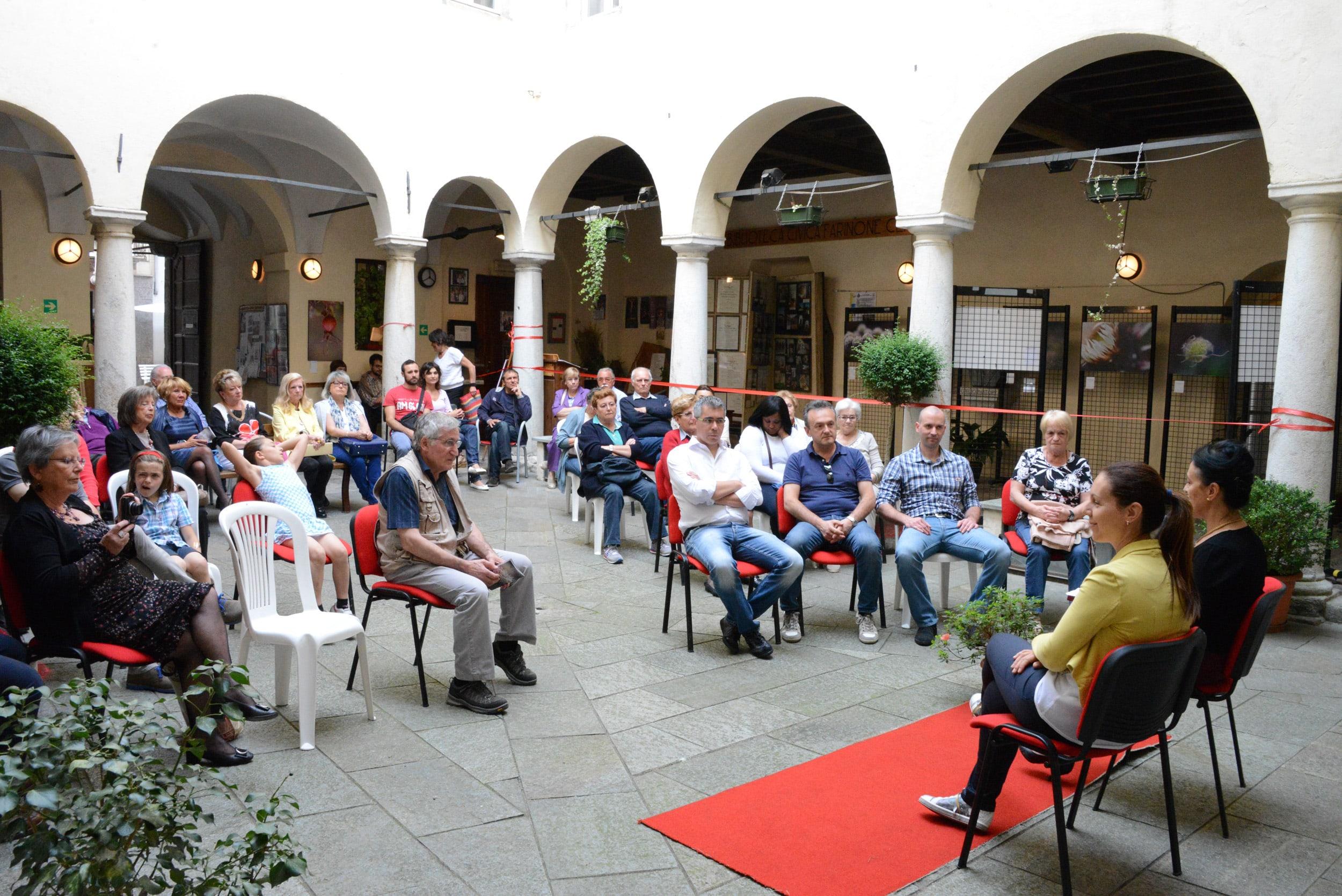 Inaugurazione Mostra La natura Esagera Varallo Sesia - 3