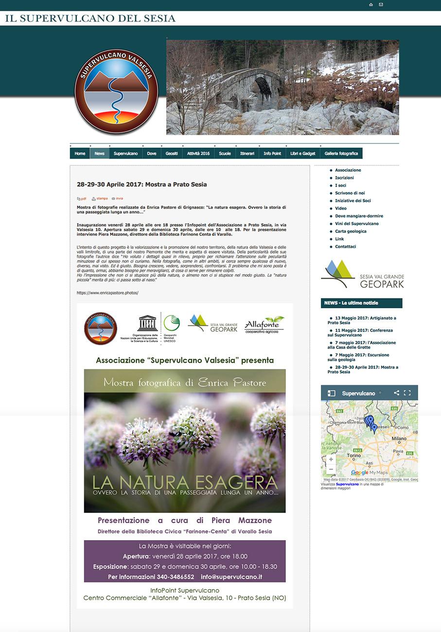 Articolo sul sito del Supervulcano della Valsesia.