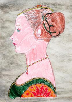 ritratto-di-giovane-dama-piero-del-pollaiolo-caterina