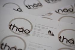 Logo e immagine coordinata Thao - 2