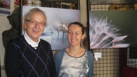 La visita di Franco Pastrello
