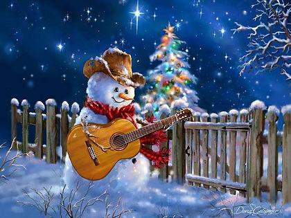 Новогодний концерт в классе гитары