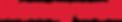 Logotipo da Honeywell escrita em letras vermelhas