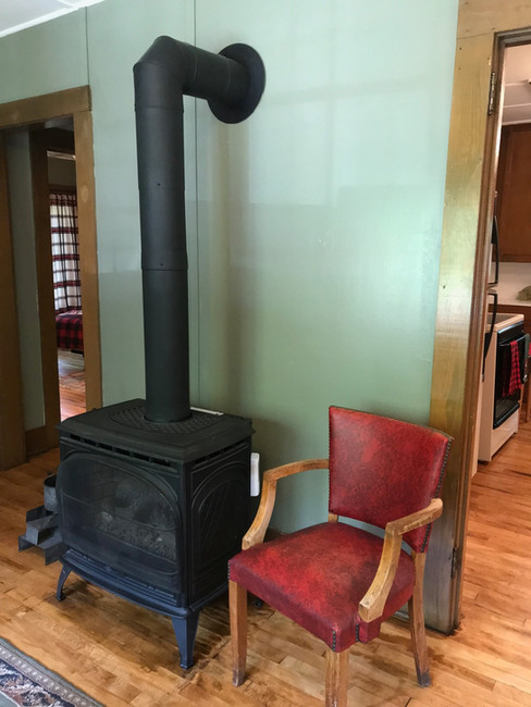 Electric stove for added warmth