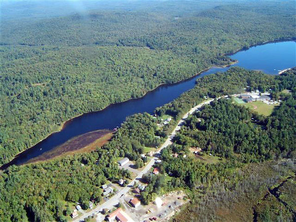 Aerial photo of Newcomb NY
