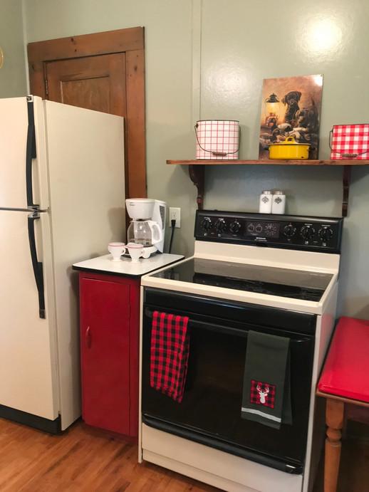 Electric Range and Refrigerator