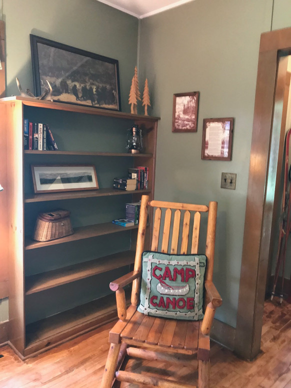 Cabin style hickory furniture