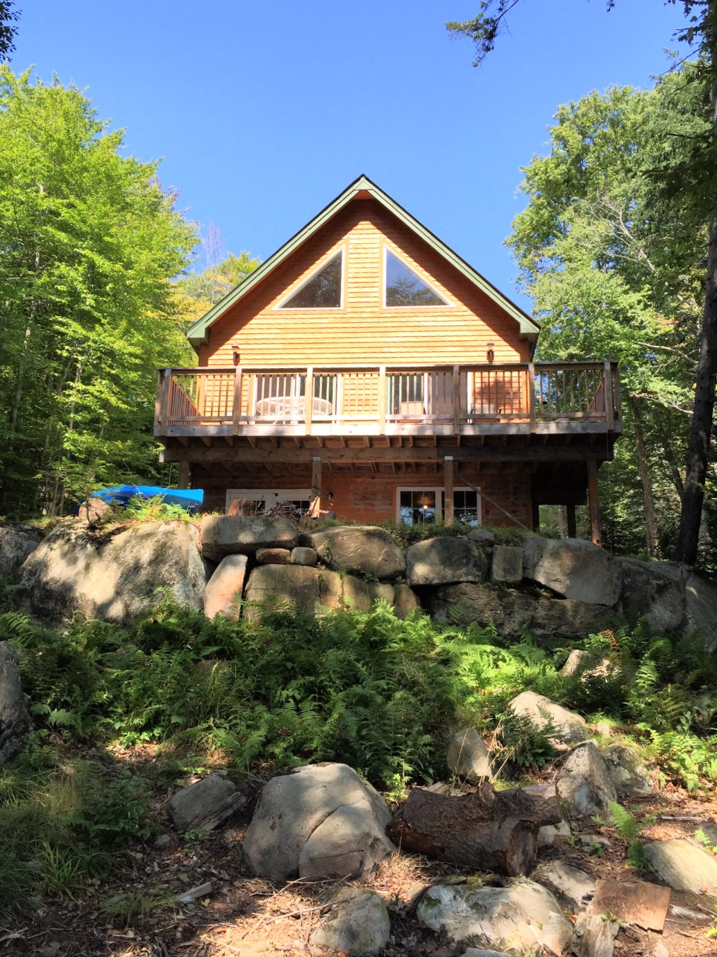 Lakeside Cabin on Goodnow Flow