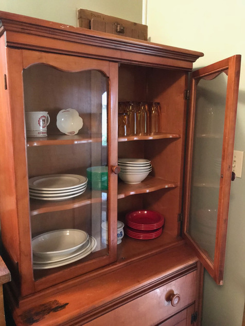 Dishes supplied