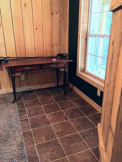 Ceramic tile downstairs Bedroom