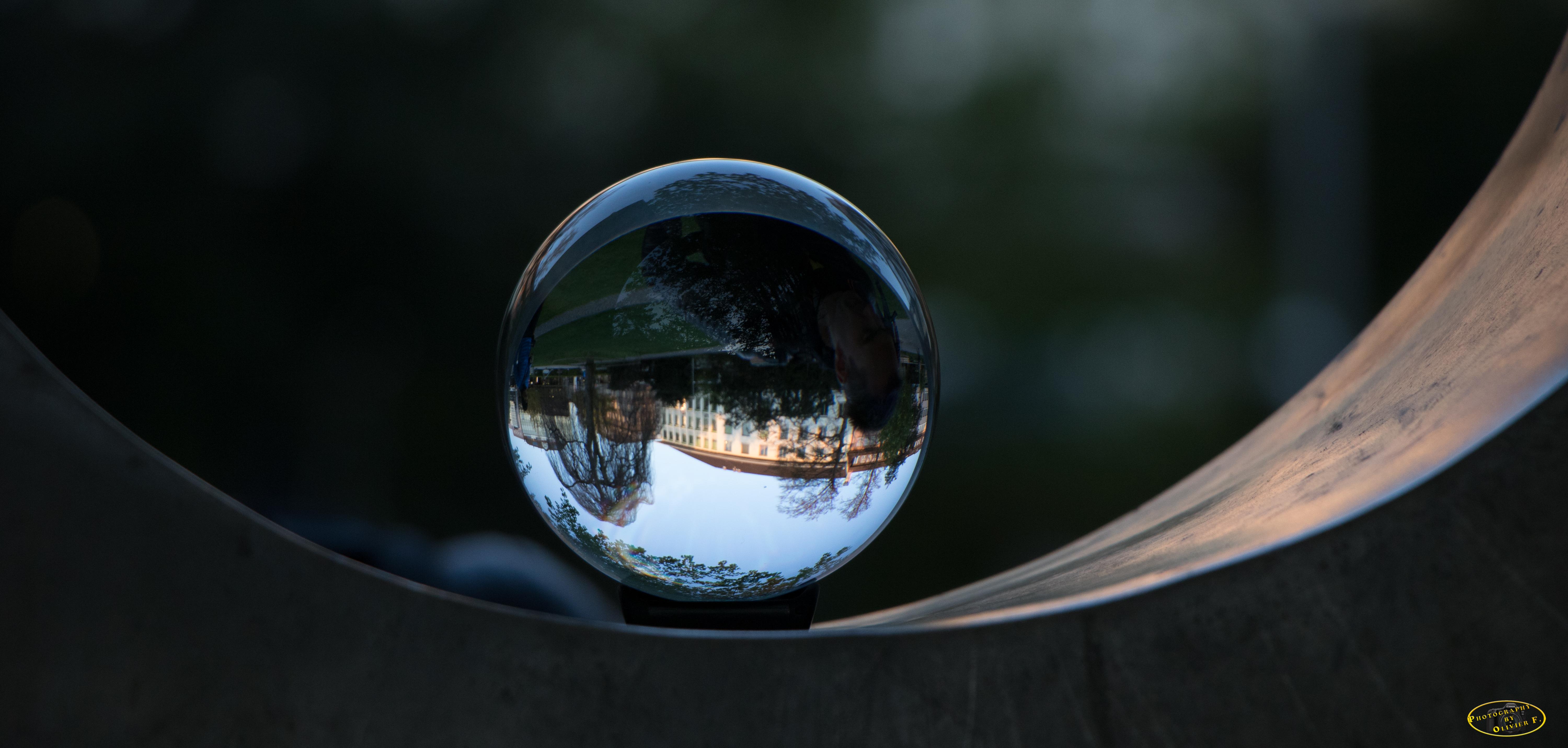 Glas Ball view