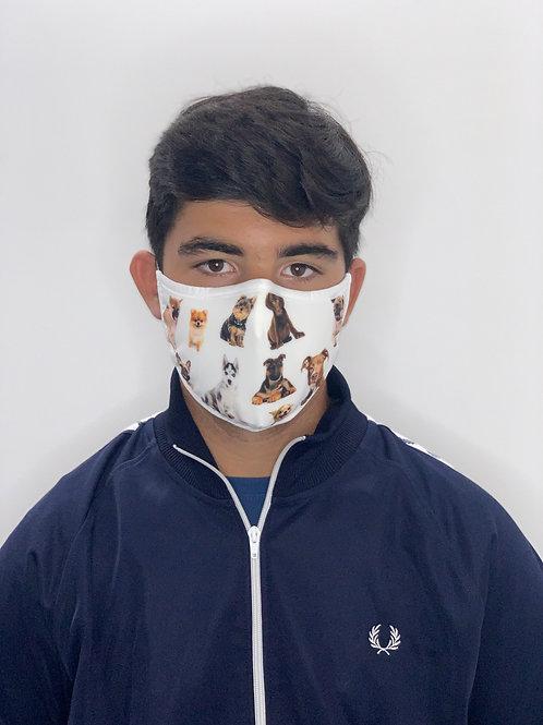 DOGS -  Máscara Social Reutilizável