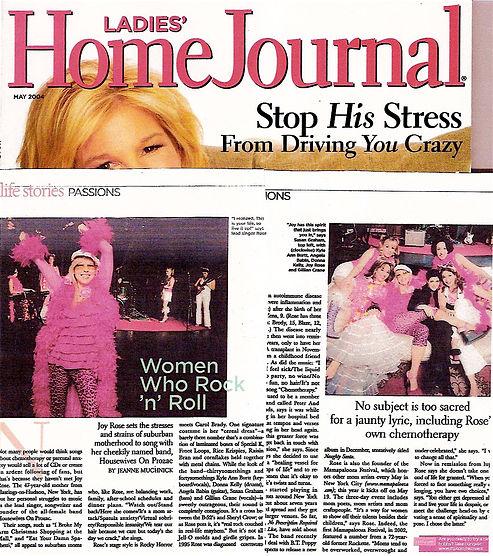 Ladies' Home Journal - Women Who Rock 'n' Roll