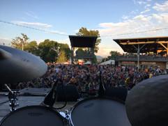 the crowd at Summerfest, Milwaukee 2017
