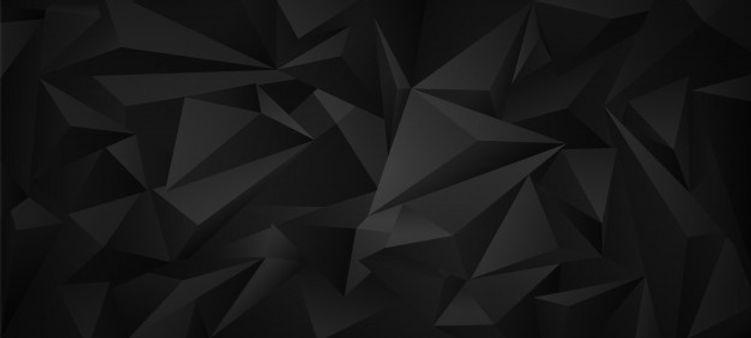 black-dark-3d-low-poly-geometric-backgro