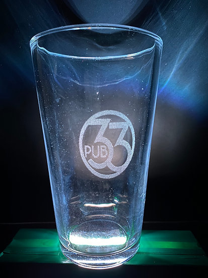 Customisable Etched Glasses