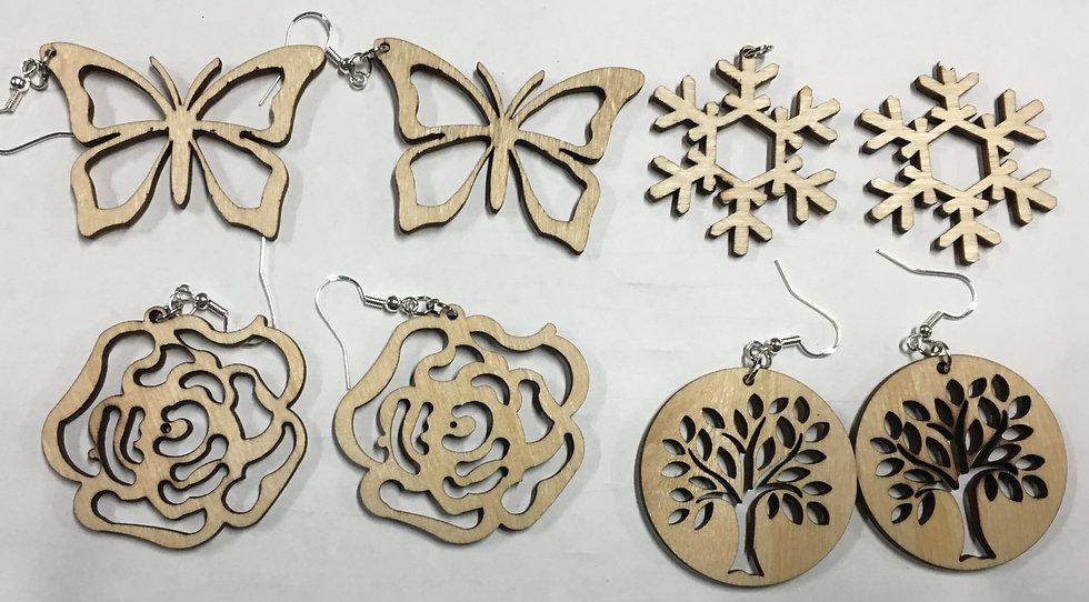Outdoor Themed Earrings