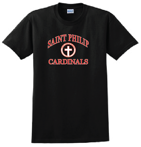 Short Sleeve T-Shirt - School Crest Logo