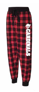 "Saint Philip Flannel Pants/Joggers with ""Cardinals"""