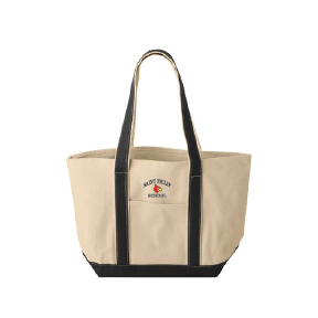Canvas Tote Embroidered with Cardinal Logo