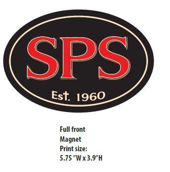 Saint Philip School Oval Magnet