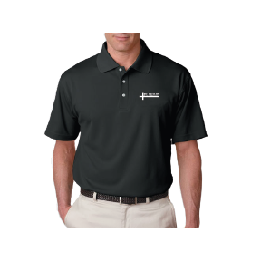 Cool-in Dry Embroidered Polo with Cross Logo