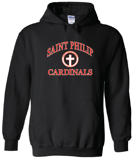 Hooded Sweatshirt - School Crest Logo