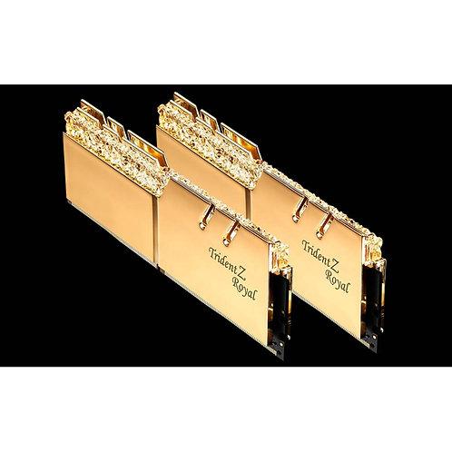 G.Skill Trident Z Royal DDR4 3600Mhz - 2x8GB (Gold)
