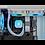 Thumbnail: Corsair iCUE H100i ELITE CAPELLIX Liquid CPU Cooler - White