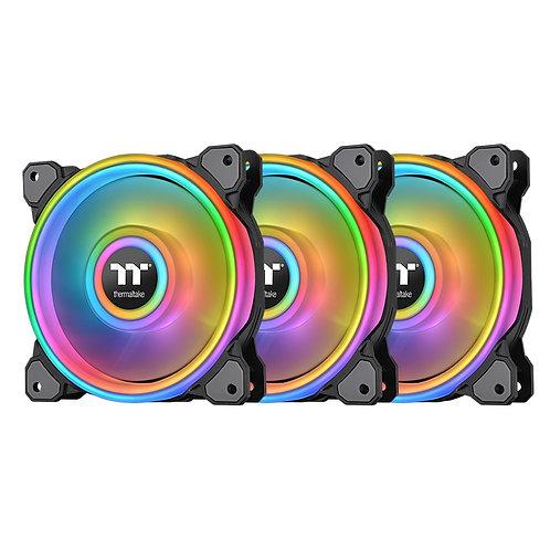 Thermaltake Riing Quad 12 RGB Radiator Fan TT Premium Edition 3 Fan Pack