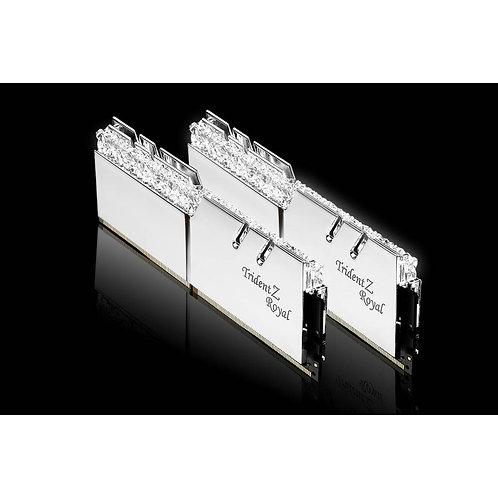 G.Skill Trident Z Royal DDR4 3600Mhz - 2x8GB (Silver)